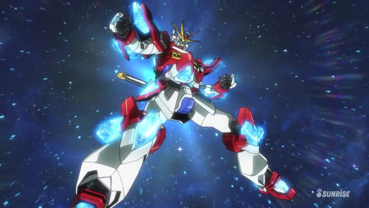 Gundam build fighters try episode 25 anime for Domon episode 39