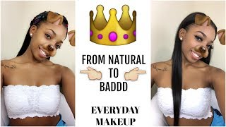 SLAY WITH ME ! EVERYDAY MAKEUP 2017 | DRUGSTORE