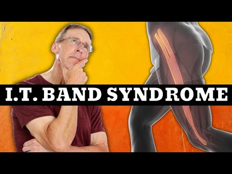 IT Band Syndrome (Outside Knee Pain) Exercises & Stretches. (Iliotibial Band Syndrome)