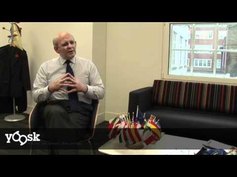 Jonathan Scheele, EC Rep in the UK on the Single European Transport Market