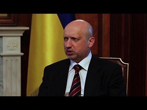 Crimea referendum a 'sham': acting president