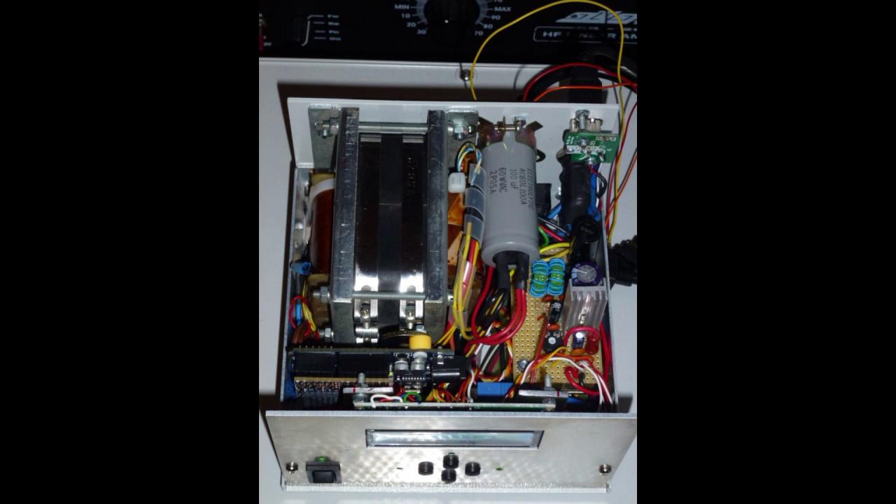 Arduino Rotator controller AZ-EL (K3NG)