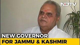 Satya Pal Malik To Replace NN Vohra As Jammu And Kashmir Governor