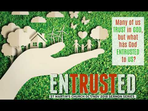 Join us as we journey together exploring the things that God has entrusted to us.
