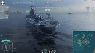 World of Warships - OHIO the tier 10 Georgia is a BEAST