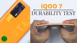A Weaker Monster - iQOO 7 Durability Test   Wait for iQOO 8 !