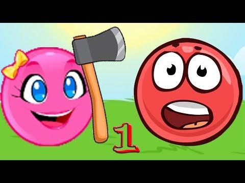 Новый КРАСНЫЙ ШАР, Красныш и Соня, мультик игра Детский летсплей #92