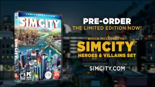 SimCity Limited Edition -- Heroes and Villains Trailer (coming March 5, 2013)