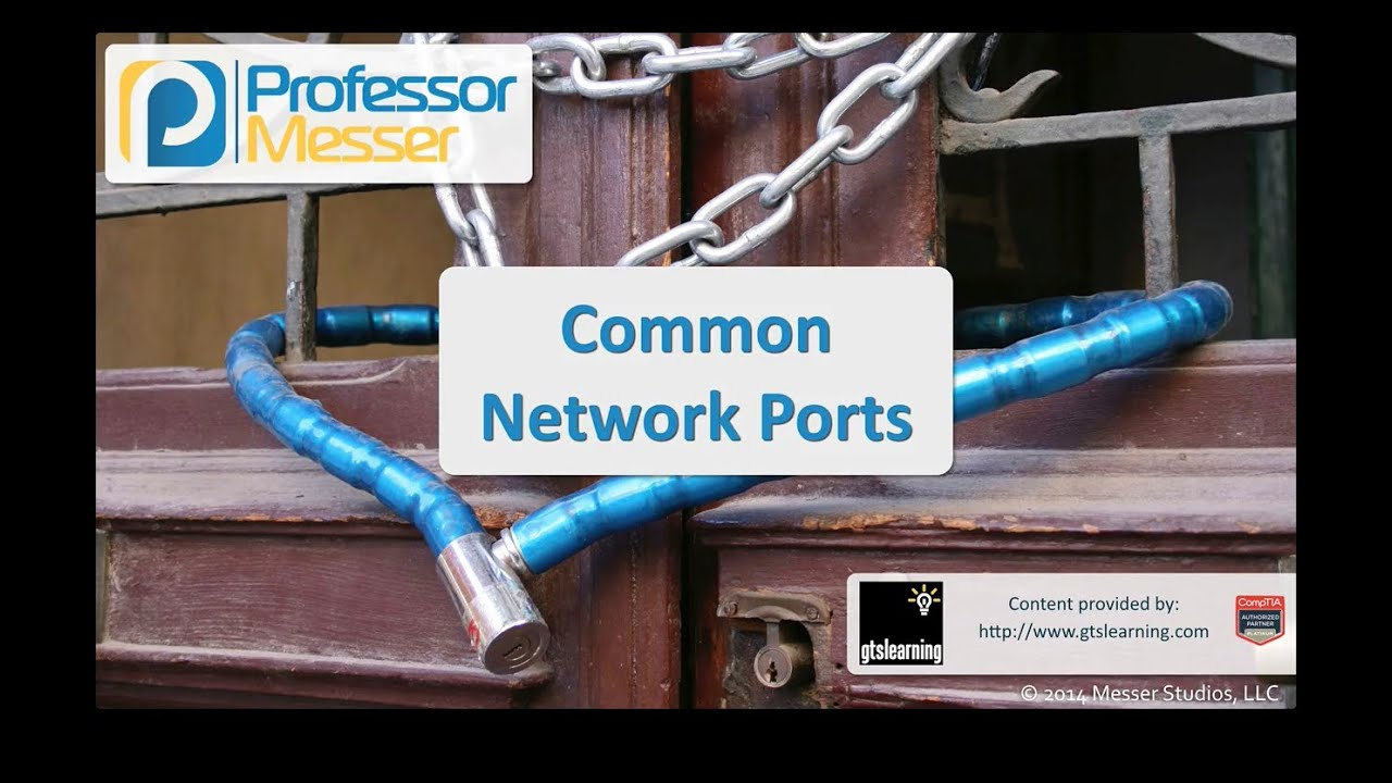 Common Network Ports - CompTIA Security+ SY0-401: 1.4