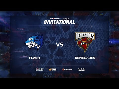 [EN] Flash vs Renegades, map 1 inferno, SL i-League Invitational Shanghai 2017