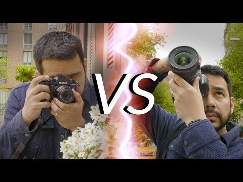 Mirrorless vs. DSLR | Which Camera is Right for Me?
