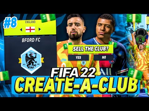 THE FINAL GAME... then I'm SELLING my CLUB! 😢💰 (FIFA 22 Create A Club #8)