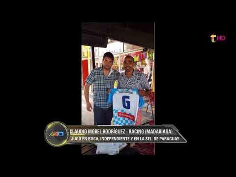 MOREL RODRIGUEZ JUGÓ PARA RACING DE MADARIAGA