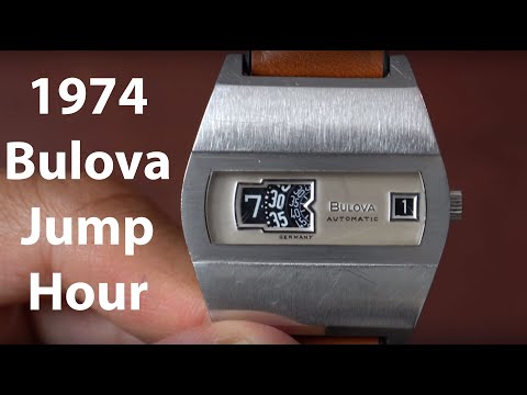 Affordable Vintage Bulova N4 Jump Hour Watch from 1974