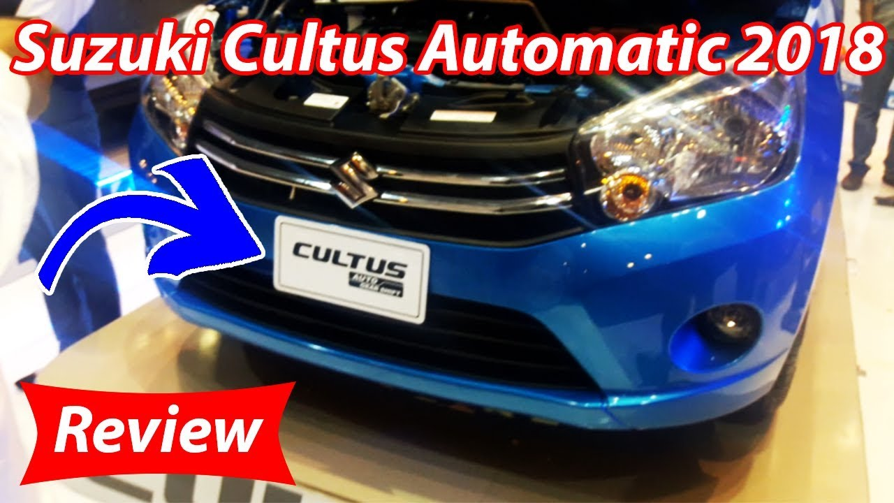 Suzuki Cultus 2018 Automatic Review Pakistan Youtube