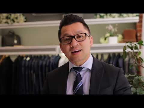 Suit Jacket Length Tutorial By Anthony Van Pham Perth Tailoring Co