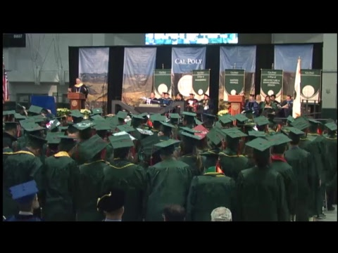 2017 Cal Poly Fall Commencement 4pm