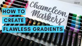 How to Create Smooth Gradients with Chameleon Markers