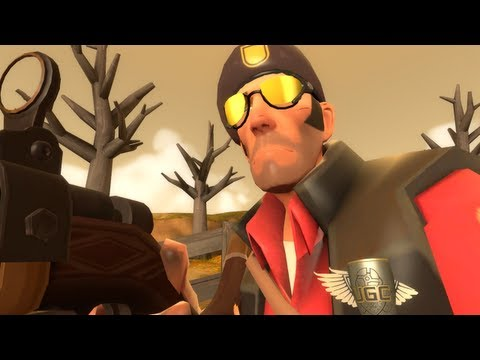 Bizarre Harvest: TF2 [Live Commentary] Sniper Gameplay