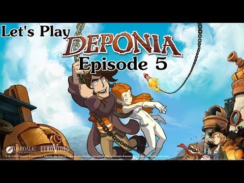 Let's Play Deponia Episode 5 - Animal Abuse