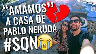 O que fazer em Santiago do Chile | Vlog de viagem na casa de Pablo Neruda | La Chascona