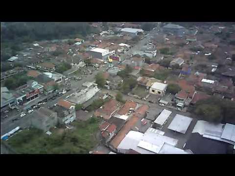 Drone cilegon serang perkampungan lontar baru kagungan