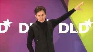 видео Павел Дуров выступил на DLD 2012