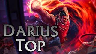 League of Legends   Dunkmaster Darius Top - Full Game Commentary