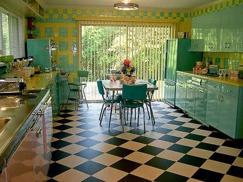 Kitchen Carpet Floor Tiles for Home Design - YouTube