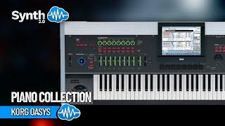 BONUS Piano Collection on Korg Oasys Kronos M3 by Space4keys ( Kurzweil Yamaha Roland )