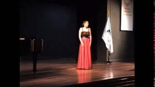 Flora Cabrera Alva - Recital en el CNM: Selección de 3 arias de ópera