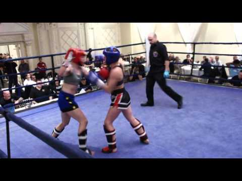 Rachel Howarth - Hamilton  Muay Thai/MMA Vs Isabell Lacroix - MAS /Battle Of The Dragons