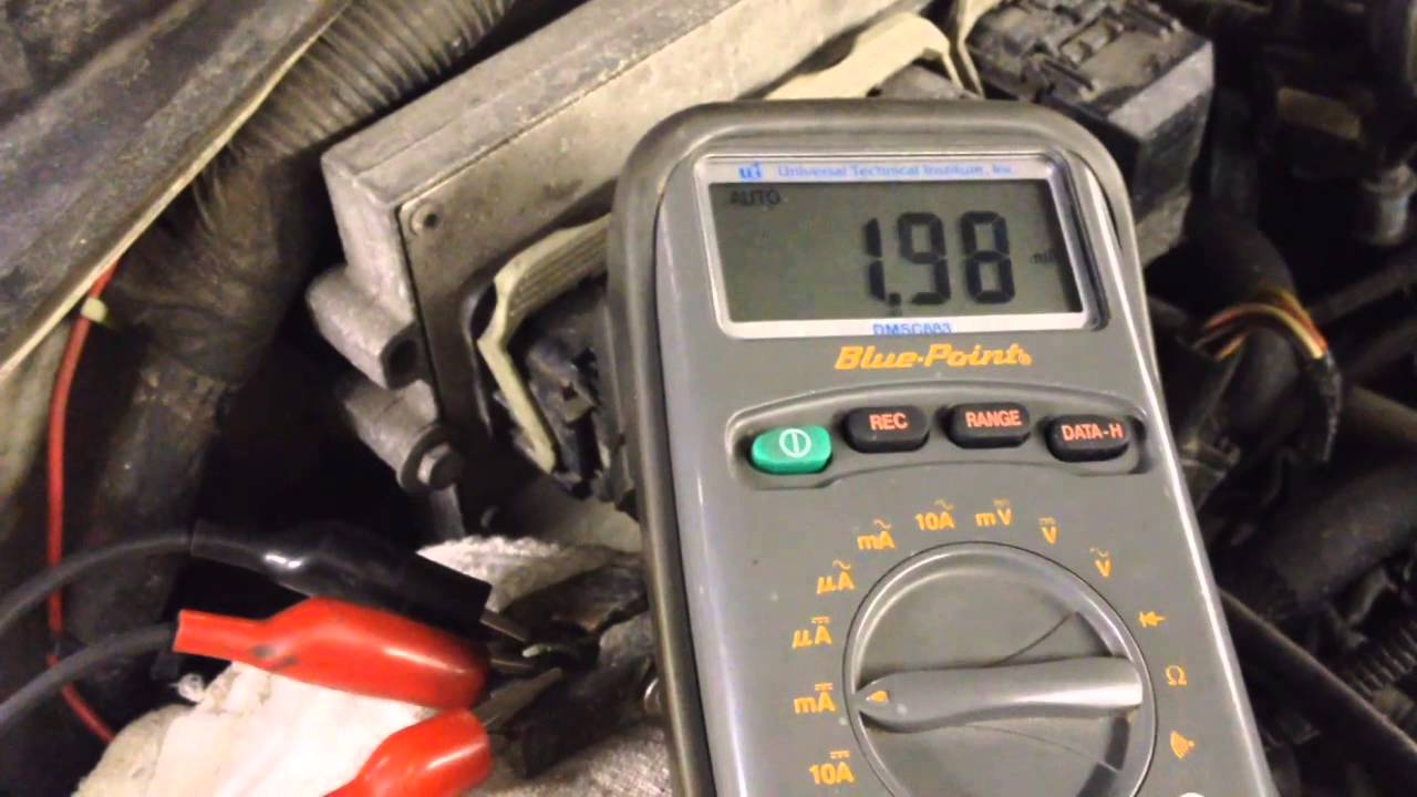 How To Perform A Battery Parasitic Draw Test Youtube Mark Iii Western Snow Plow Wiring