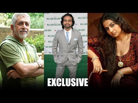 Exclusive: Pitobash Tripathy on working with Vidya & Naseeruddin