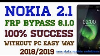 Download Nokia Ta 1053 Nougat 7 0 Frp Unlock Google Account Remove