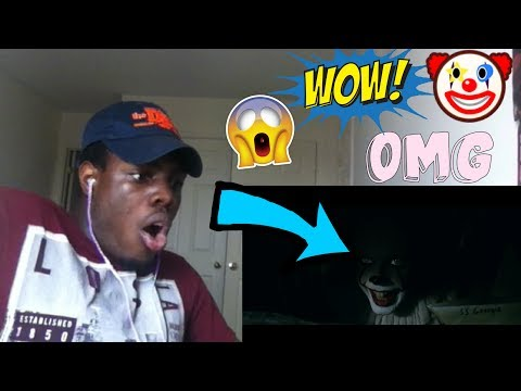 IT - Official Trailer 1 REACTION!!!