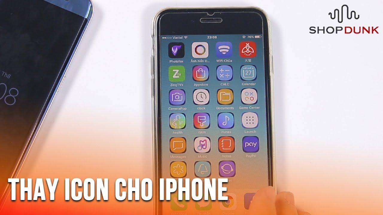 Cách thay đổi icon iPhone không cần Jailbreak cực đẹp