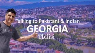 Talking to Pakistani amp Indian in Tbilisi Georgia