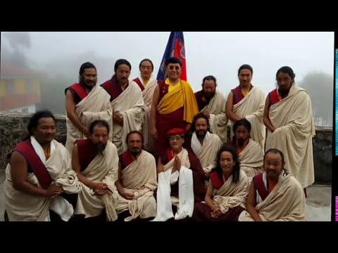 Ceremony of Six years retreat at Naropa Retreat Centre, Kyiter Gonpa Nov. 21, 2015