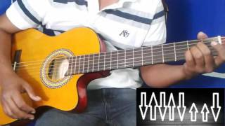 como tocar SI TE ENAMORAS DE MI// DIEGO HERRERA// TUTORIAL GUITARRA// GUICHO