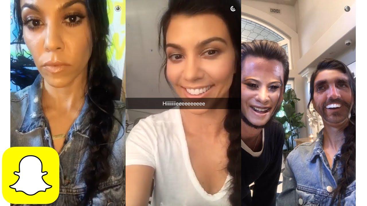 Snapchat Kourtney Kardashian nudes (12 images), Is a cute