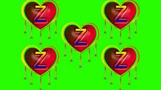 Z Name' Z Letter 'WhatsApp Status_Green Screen| Z letter, 16 Effects chroma key Free Animated | no 3