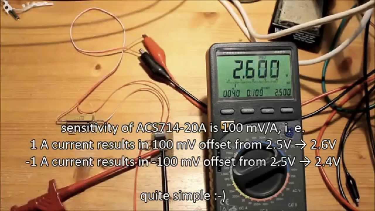 Ac714 Hall Effect Based Linear Current Sensor Ic Youtube Currentsensorcircuit1jpg