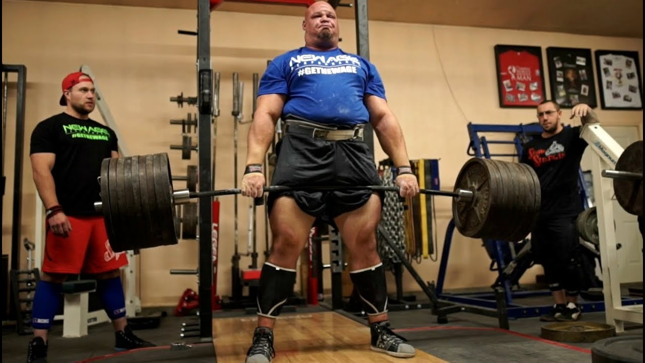 855lb Deadlift With Brian Shaw Worlds Strongest Man