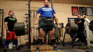 855lb Deadlift with Brian Shaw (World's Strongest Man)