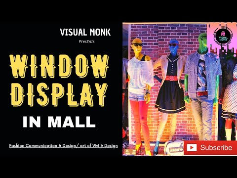 Window display at Mall / visual merchandising-1