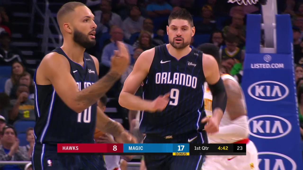 e0a1ab17 Atlanta Hawks vs Orlando Magic : March 17, 2019 - YouTube