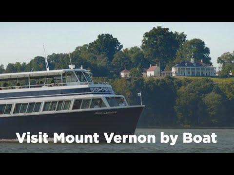Visit Mount Vernon by Boat · George Washington's Mount Vernon