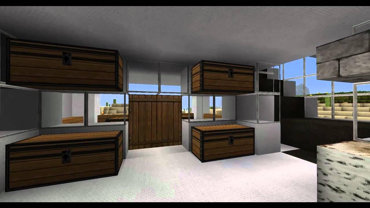 minecraft inneneinrichtung haus 2 youtube. Black Bedroom Furniture Sets. Home Design Ideas