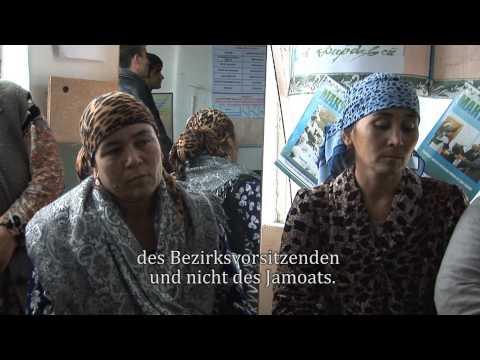 Armut reduzieren durch Legal Empowerment in Tadschikistan